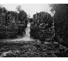 Beyond such falls, lies the land of ancient tales and myths Photographic Print