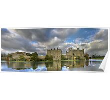 Leeds Castle Pano 2 Poster