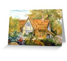 Hideaway Cottage  Greeting Card