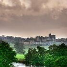 """A Constable View of Alnwick Castle"" by Bradley Shawn  Rabon"
