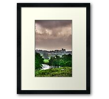 """A Constable View of Alnwick Castle"" Framed Print"