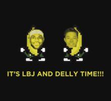 IT'S LBJ AND DELLY TIME!!! (LeBron James, Matthew Dellavedova) by TheTShirtMan