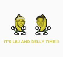 IT'S LBJ AND DELLY TIME!!! (LeBron James, Matthew Dellavedova) Kids Clothes