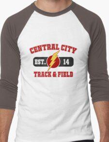 Central City Track & Field V2 Men's Baseball ¾ T-Shirt