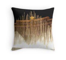 Bellagio Fountains - Las Vegas Throw Pillow