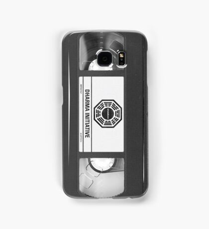 Dharma Initiative VHS - Orientation Tape (LOST) Samsung Galaxy Case/Skin