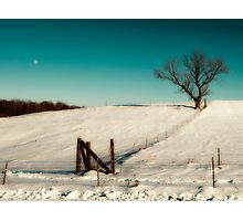 After effects from xmas snow storm. Photographic Print