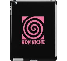 Pink Non Niche iPad Case/Skin