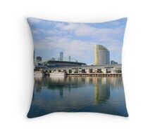 Melbourne Docklands, Australia Throw Pillow