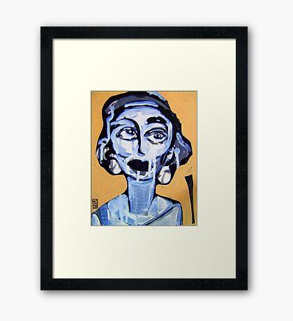 Come Girl - Framed Print