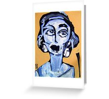 Come Girl - Greeting Card