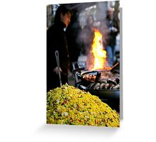 """""""Cooked to Perfection"""" Greeting Card"""