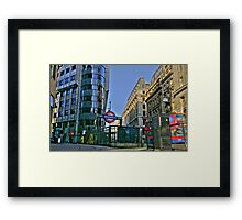 """Iconic London"" Framed Print"