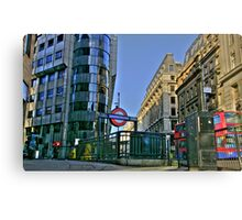 """Iconic London"" Canvas Print"