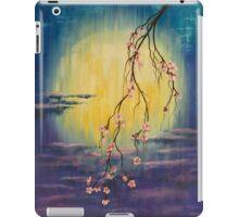 Full moon sakura iPad Case/Skin