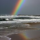 Beginning   of  a Rainbow  by Trish Threlfall
