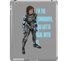 Commander Korra iPad Case/Skin