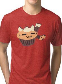 relax cat - FOOD CATS Tri-blend T-Shirt