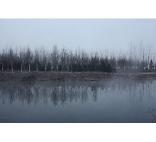 A cold cold Lake Photographic Print