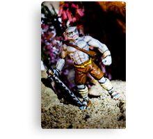 Half Orc Monk Canvas Print