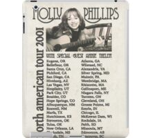 Molly Phillips Tour Poster - So Weird iPad Case/Skin