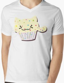 party time! - FOOD CATS Mens V-Neck T-Shirt
