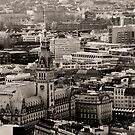 Townhall of Hamburg by Britta Dll