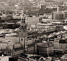 Townhall of Hamburg by Britta Döll