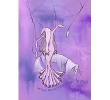 Lady Amalthea of The Last Unicorn Photographic Print