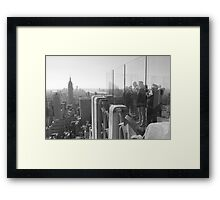 Top Of The Rock Framed Print