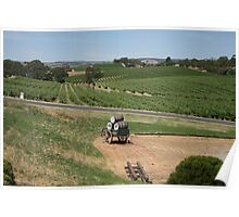 Miles and Miles from Maxwells Mead, McLaren Vale Poster