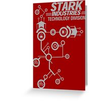 STARK INDUSTRIES TECHNOLOGY DIVISION Greeting Card