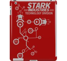 STARK INDUSTRIES TECHNOLOGY DIVISION iPad Case/Skin