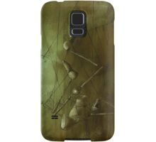 Reaching for Scissors, Creepy Puppet Painting Samsung Galaxy Case/Skin