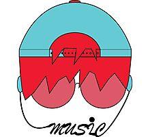 Music Head  Photographic Print