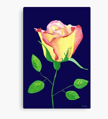 Love in Bloom Canvas Print