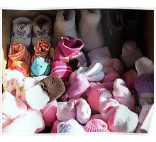Baby sock drawer.... Poster