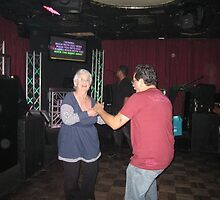 Mom dancin with Tito Puente Jr by helene ruiz