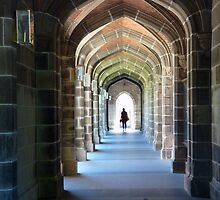 Portal To Knowledge Melbourne University Victoria by Deirdreb