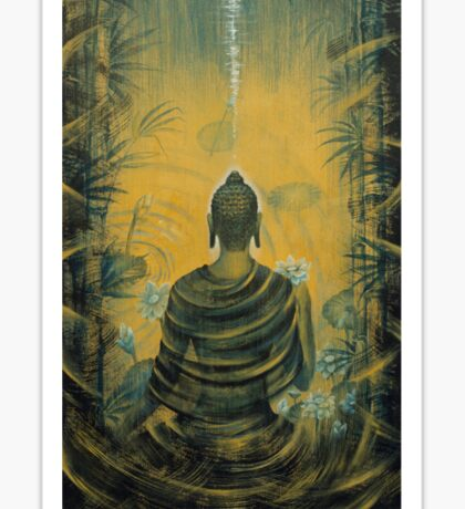 Buddha. Presence Sticker
