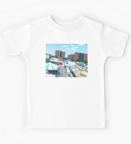 coney island ferris view Kids Tee