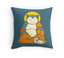 Hotei Snorlax Throw Pillow