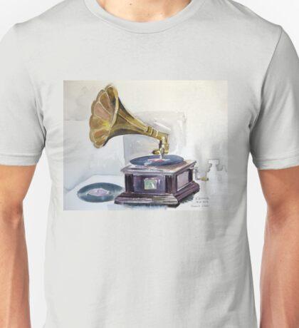 Old Gramophone  Unisex T-Shirt