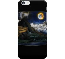 Smaug and the Lonely Mountain iPhone Case/Skin