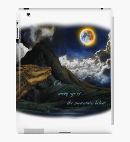 Smaug and the Lonely Mountain iPad Case/Skin