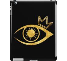 Eye of the Crown  iPad Case/Skin