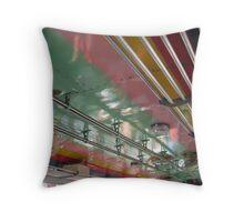 Colorful Bus - Thailand Throw Pillow
