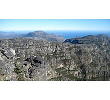 View from the Top - Table Mountain, South Africa Photographic Print