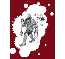 Get the Punk Out Photographic Print
