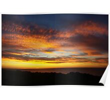 Blazing Skies Poster